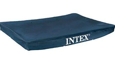 Intex 28038 Copripiscina Frame Rettangolare Cm 300X200 Art. Pulizia E Manutenzione 161, PVC, Multicolore, 300 x 200 x 75 cm