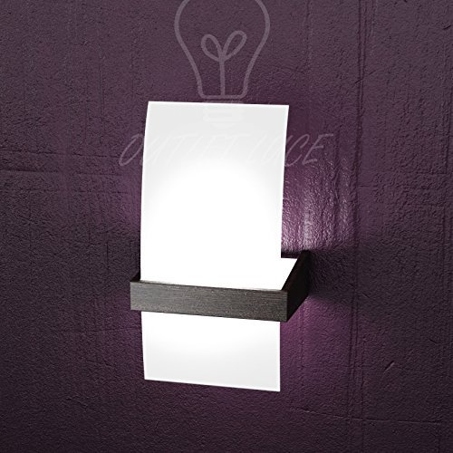 Lampada da parete applique top light modello 1019 ap w for Applique da camera