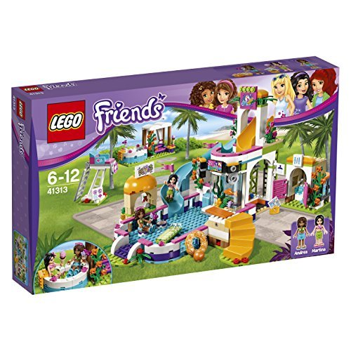 LEGO Friends 41313 Set Costruzioni La Piscina allAperto di Heartlake 0 - LEGO Friends - La Piscina all'Aperto di Heartlake, 41313