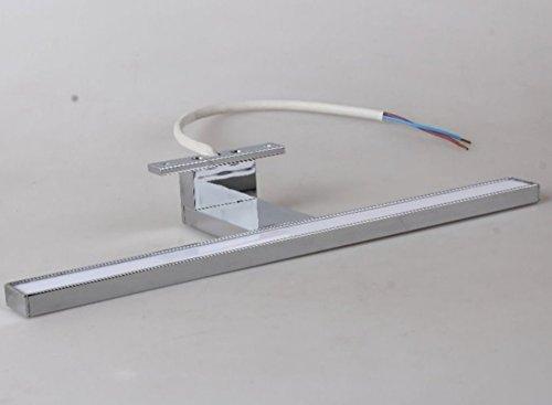Lampada a led in alluminio per specchio - Alluminio lucidato a specchio ...