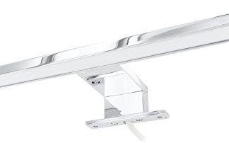 Lampada a LED in alluminio, per specchio, IP44, 4,5 W, 220 lm, 305 mm, 230 V – Bianco Caldo (3000 K)