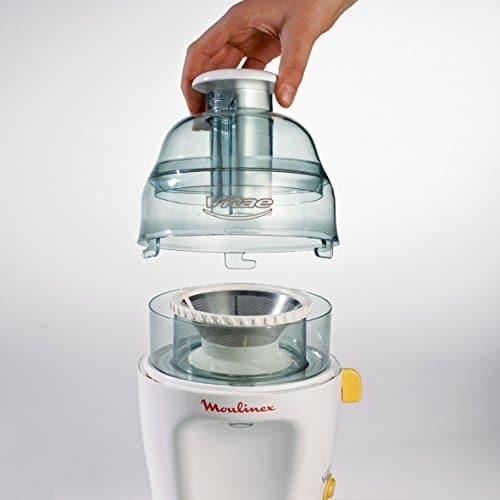 Moulinex JU2000 Centrifuga vitaé 200w Elettrodomestici per la casa, 200 W, 0 Decibel, plastica, Bianco