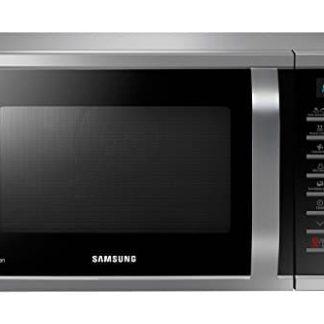 Samsung MC28H5015CS Forno a Microonde Combinato da 900 + 1500 + 2100 W con Grill e Piatto Doratore, 28 Litri, Grigio