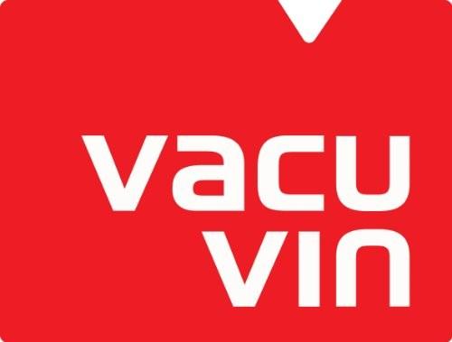Vacu Vin Pompa Salvavino Concerto con 4 Tappi per Il Vuoto Nero 0 3 - Vacu Vin Pompa Salvavino Concerto con 4 Tappi per Il Vuoto - Nero